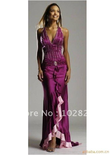 celebrity dresses 2012 free shipping long bridesmaid dresses,women's knee length bridesmaid dresses!~~C52~~(China (Mainland))
