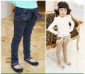 Free Shipping+6pcs/lot children pants girls pants fashion pants fashion design