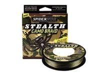 Spider wrie STEALTH  CAMO BRAID fishing PE line/braided wire,Camouflage 275m