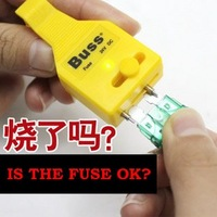 free shipping great auto tool,car fuse tester  can test fuse without extracting it also with clip