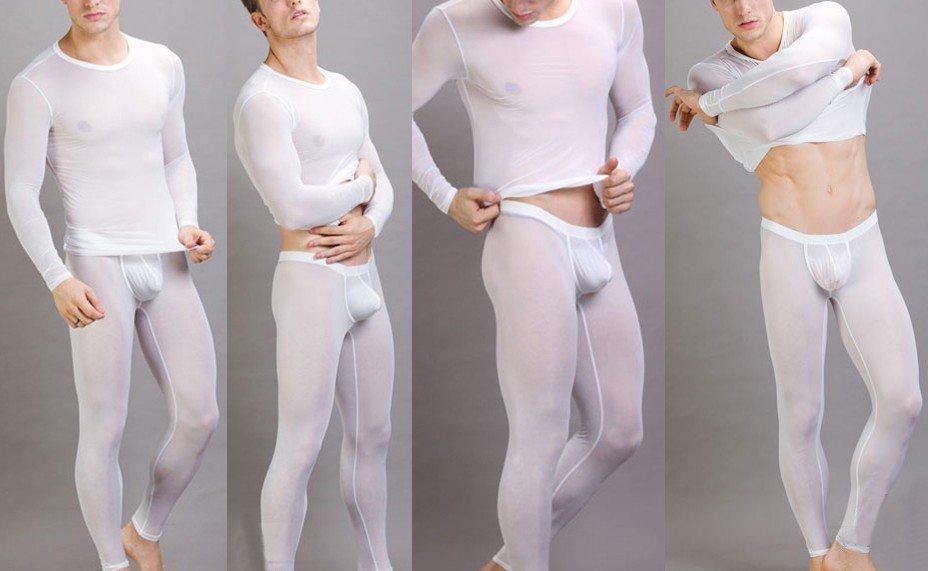 стринги под белой одеждой фото