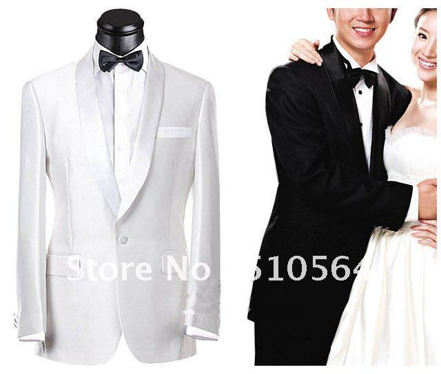 Wholesale Groom Tuxedos Wedding Groomsman Men Bridegroom Suits Jacket