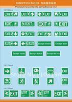 IMO Symbols(Photoluminescent )  Direction sign