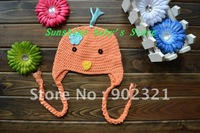 Wholesales,hot selling,freeshipping,Baby beanies,20pcs/lot mix color ,100% handmade animal hat,crochet hats,baby hats