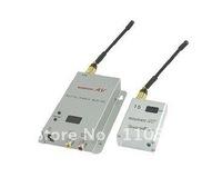 wireless AV transmitter and receiver 1.2GHz 15CH 500mW