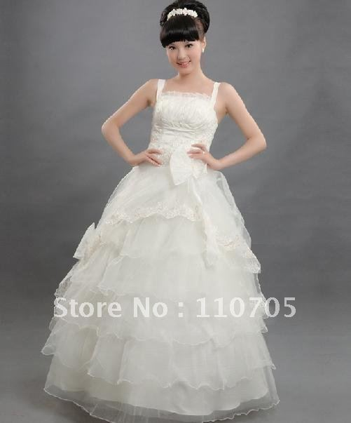 2012 classical money the bride wedding dress han edition gown