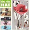 Free ship children straw hat,sombrero sunbonnet,baby jazz cap, kids top hat, baby fedoras, baby dicers 10pcs/lot