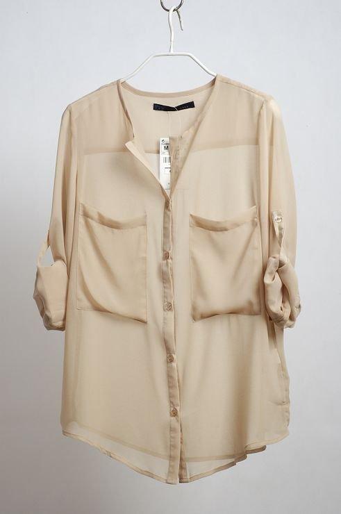Bohemia Pleated Full Length Skirt Vintage Chiffon Big Hem