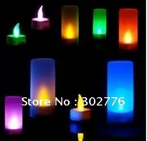 Free shipping  led simulated candle Light