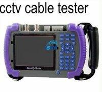 Free Shipping China Post  CCTV Security Camera Tester Optical Fiber Tester, Controlling PTZ, Testing LAN Cable,Capturing Data