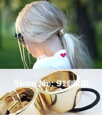 Аксессуар для волос Fashion Vintage Alloy Elastic Hair Band Brand Jewelry 3 Colors, S1806