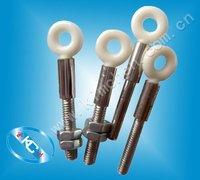 Loop ceramic guide with screw  (Textile ceramic guide)