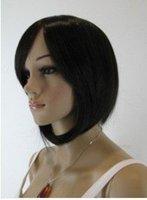 perruque de cheveux assez court des femmes noires/wig shipping free