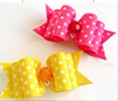 spotty dog's grooming bows(5 styles/lot),dog's hair flower,cat hairclips,dog head flowers,pet's festival ornament,pets' bowtie