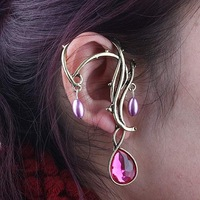 2012 New Fashion Retro Alloy+ Resin Earrings Worldwide free shipping 36pcs/lot