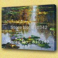Monet oil painting canvas art claude monet waterlilies famous painting reproduction