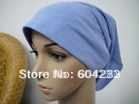wholesale newest styles free shipping easeful muslim hat arab cap islamic underscarf Islamic hijab assorted color