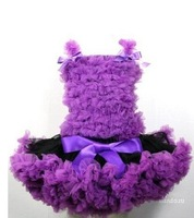 Pettiskirt Skirt set, pettiskirt tops and pettiskirts, baby pettiskirt dresses  purple Y01