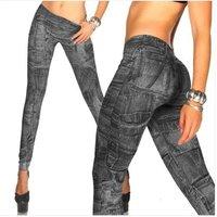 простирания спандекс черные джинсы выглядят женские jeggings сексуальные леггинсы Леггинсы Колготки бесшовные леггинсы лосины