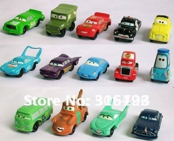 Free shipping High Quality PVC NEW 14 pcs/set Pixar Car Figures Full Set for Gift Wholesale A001