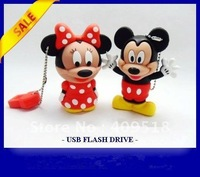 carton Mickey Mouse , usb flash drive gift usb cute gifts usb stick for kids gift wholesell