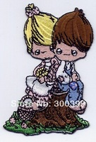 Wholesales 100pcs/lot Applique Embroidery - Girl & Boy