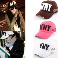 Free shipping Korean baseball cap hat men and women to do the old cap of white rice,best-selling mix colors
