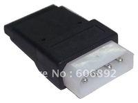 free shipping wholesale 4Pin IDE to 15 Pin SATA N IDE to serial ATA SATA hard drive power adapter cable