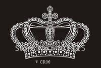 WCR06 Crown rhinestone transfer