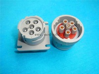 Truck connector J1708 plug 6pin connector