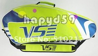 20pcs  badminton bag Genuine VS shoulder racquet bag  packs high quality free ship