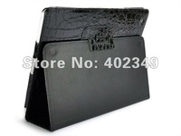 New Crocodile Skin Leather Case for Tablet PC, MID &amp; Laptop Leather Case. 10PCS/Lot, Free Shipping!