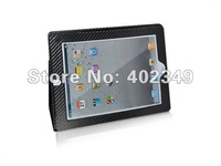 Carbon Fiber Skin Leather Case for iPad2, Tablet PC, MID &amp; Laptop Leather Case. 10PCS/Lot Free Shipping!