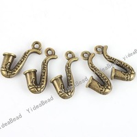 Wholesale - 40pcs New Arrival Vintage Antique Bronze Charms alloy pendants charms fit necklace140907
