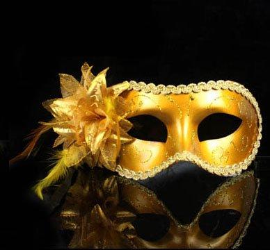 ���� �������...�����! gold-masquerade-mask