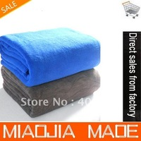 Free shipping 2PC 60cmx180cm 450g thicken Microfiber Bath Sheet Microfibre Wrap Camping Travel Beach Towel Drying Cloth
