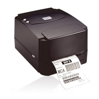 Free shipping by EMS TSC TTP-244 Plus Thermal Barcode Printer support 300 Meter Ribbon Supply and Max. Print Width 4.
