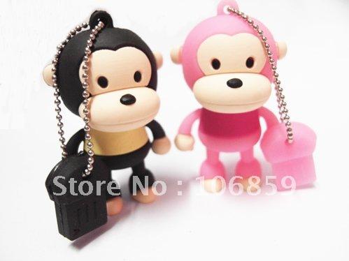 Popular Cartoon Usb Flash Drive,4GB Cartoon Usb Pen Drive (Mixed Order Accept)(China (Mainland))