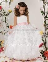 free shipping Lovely Custom Flower Girl Dress