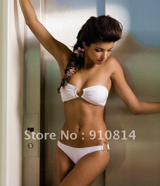 Free Shipping! 2012 hot sale shop Bikini beach fashion white swimsuit for ...