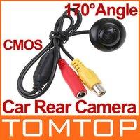 Система помощи при парковке Mini Car Rear View Reverse Backup Parking Waterproof CMOS Camera Black, retailed package