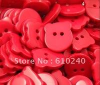 Winnie the color of the buttons / cartoon children buckle Wansheng garment accessories / 024
