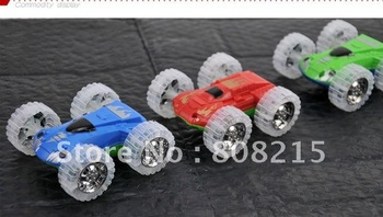 New arrival -best quality 1set(6pcs)/lot plastic toy, Double-side toys car,nice gift fou child