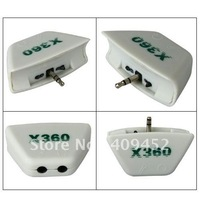 For XBOX 360 XBOX360 Headphone Headset Converter Adaptor 10020