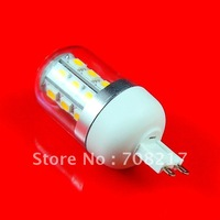 Free Shipping 4W 24leds LED G9 bulb with clear cover CE RoHS approved