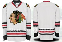 Blackhawks jersey Hockey jerseys #Blank Authentic jerseys size 48-56 Free shipping
