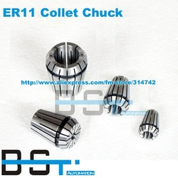 ER11 Spring Chuck collet (0.5-7mm) for spindle motor/engraving/Milling/Grinding/Boring/Drilling/Tapping(China (Mainland))