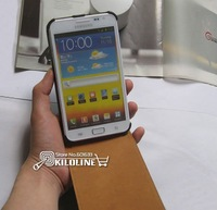 Genuine Leather Case Cover For Samsung Galaxy Note i9220