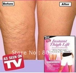 Free Shipping Wholesale Thigh Massager Instant Thigh Lift - As Seen On TV Transparent Strips 8pc/pack(China (Mainland))