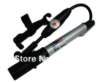 BMB Cycling High-Pressure mini Bicycle bike air Pump with Pressure Gauge